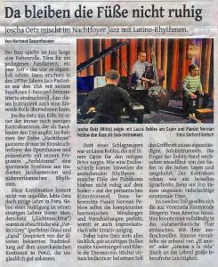 Konzert Wuppertal 2.4.16