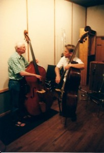 Two Generations of Contrabass mit Barre Phillips 2002 II